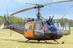 UH-1D Huey直升机 图库摄影