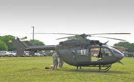 UH-72 Lakota. In camp Mabry in Austin, Texas during an event on 26-27 April,2014 Royalty Free Stock Photos