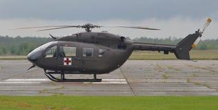 UH-72 Medevac Helicopter. A UH-72 Lakota utility helicopter used for medical evacuation (medevac Royalty Free Stock Photos