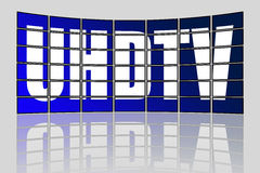 UHDTV Concept Stock Photography