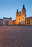 Uherske Hradiste, République Tchèque Photos stock