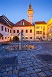 Uherske Hradiste, République Tchèque Photographie stock