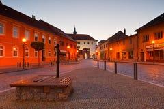 Uhersky Ostroh, República Checa fotos de archivo