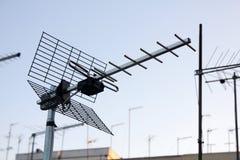 UHF天线 免版税库存图片