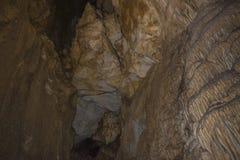 Uhlovitsa洞 免版税库存图片