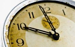 Uhr alt Stockfoto