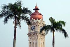 Uhr auf dem Turm Stockbilder