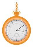 Uhr auf Kette Lizenzfreies Stockbild