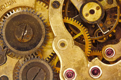 Uhr-Bewegung Stockfotografie
