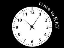 Uhr bw Stockbild