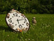 Uhr des Bambusses Stockfoto