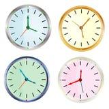 Uhr, die Zeit zeigt Lizenzfreie Stockfotografie