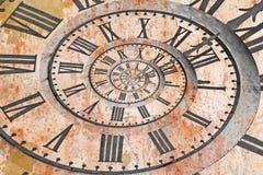 Uhr im drost Effekt stockfotos