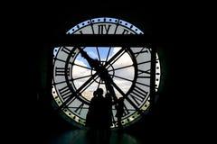 Uhr im musee d'Orsay Lizenzfreies Stockfoto