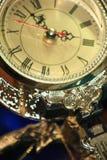 Uhr mit Pendel Lizenzfreies Stockbild