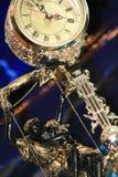 Uhr mit Pendel Stockfotografie