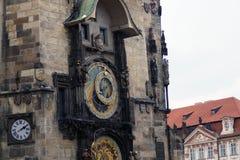 Uhr Prag Orloy 5 Stockbilder