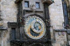 Uhr Prag Orloy 4 Lizenzfreies Stockfoto