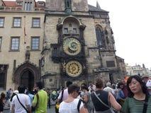 Uhr Prag Orloy 1 Lizenzfreie Stockfotografie