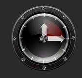 Uhr-Rot Lizenzfreie Stockfotografie