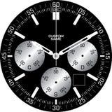 Uhr-Schablone k lizenzfreies stockfoto