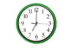 Uhr serie - 7 Uhr Lizenzfreies Stockbild