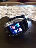 Uhr-Telefon Lizenzfreies Stockbild