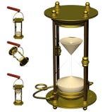 Uhr-Timer der Lieferung Stockfotos