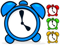 Uhr-Vektor Lizenzfreies Stockfoto