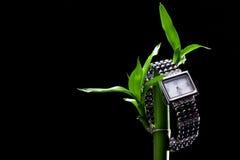 Uhr von der Perle Lizenzfreie Stockfotografie