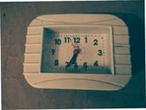 Uhr-/Weinlesehintergrundmuster lizenzfreie abbildung