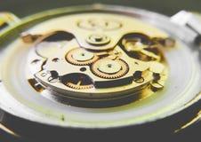 Uhrbewegung Lizenzfreies Stockbild