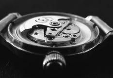 Uhrbewegung Stockfoto