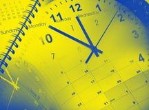 Uhren und Kalender stockfotografie