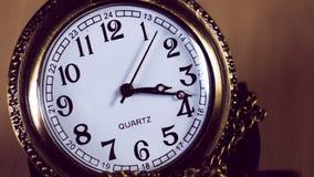 Uhrmakro-timelapse stock video footage