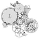Uhrmechanismus Stockfotografie