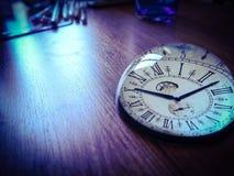Uhrmodell Stockfoto