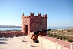 Uhrturm, Malta Stockbild