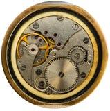 Uhrwerk alte UDSSR-Uhr, Wecker Lizenzfreies Stockfoto