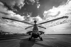 UHT τιγρών Eurocopter επιθετικών ελικοπτέρων στοκ φωτογραφίες
