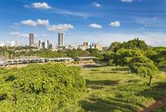 Uhuru Park à Nairobi, Kenya Images libres de droits
