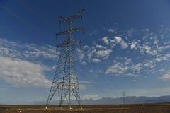 UHV transmission tower royalty free stock image