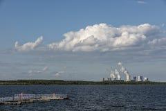 UHYST,德国, 2017年8月27日:BA¤rwalderr湖 免版税图库摄影