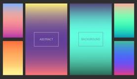 ui背景的抽象充满活力的梯度 向量例证