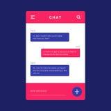 UI, σχεδιάγραμμα προτύπων UX και GUI για κινητό Apps Στοκ Εικόνα