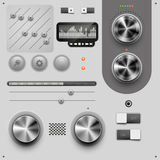 User Interface Design Elements Stock Photos