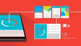 UI design Stock Photography