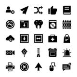UI Icons Set vector illustration