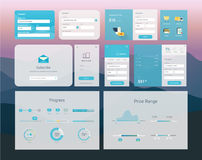 UI interface design Stock Photography