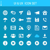 UI And Internet icons collection Stock Image